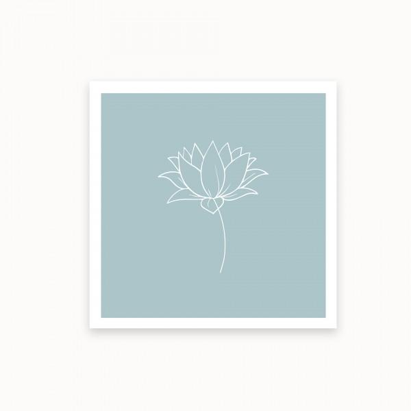 Lotus I | Blaugrün | mirandolo basics