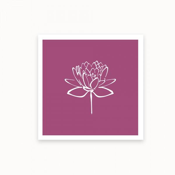 Lotus II | Lila | mirandolo basics