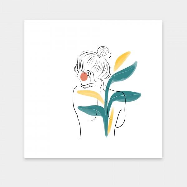 female lines I Flower