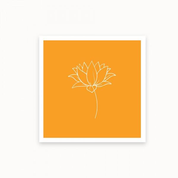 Lotus I | kräftige Mandarine | mirandolo basics