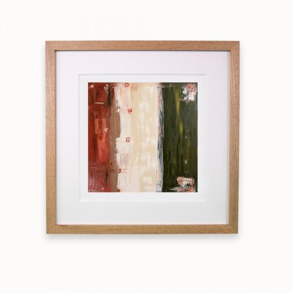 Roter Staub, eine Straße und ein Rasen | Oak line m
