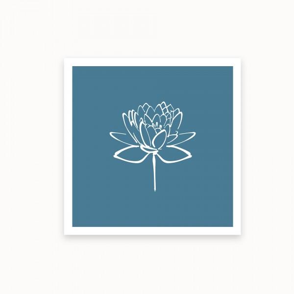 Lotus II | Stahlblaugrau | mirandolo basics
